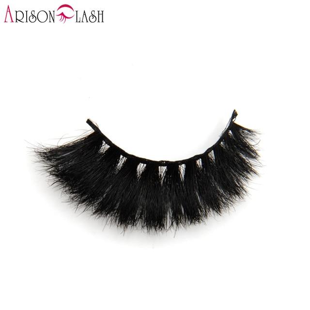 0f4a1761dbd 3D Fake Eyelashes Arison H809 Hand Made Horse Hair Crisscross Full Strip  Lashes For Make Up