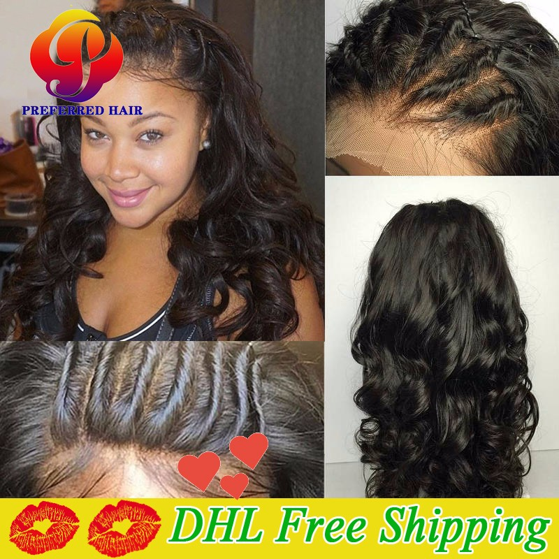 Shoulder Length Lace Front Wig Sew In Full
