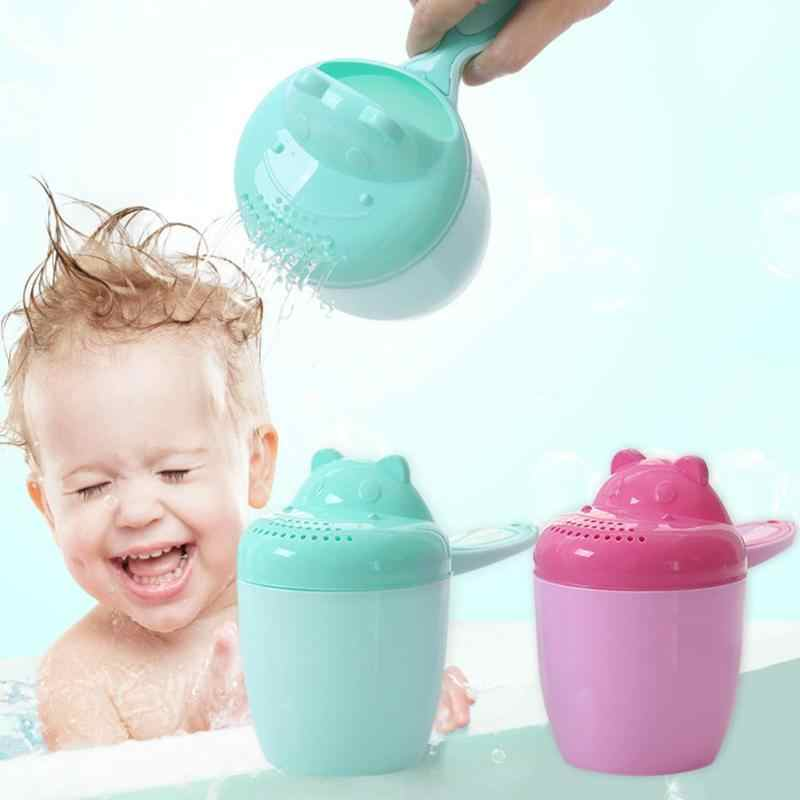 תינוק אמבטיה מקלחת כוס חמוד קריקטורה כביסה שיער ביילר ממטרה אמבטיה כלי אמבטיה מקלחת מוצרי תינוק לשטוף כוס