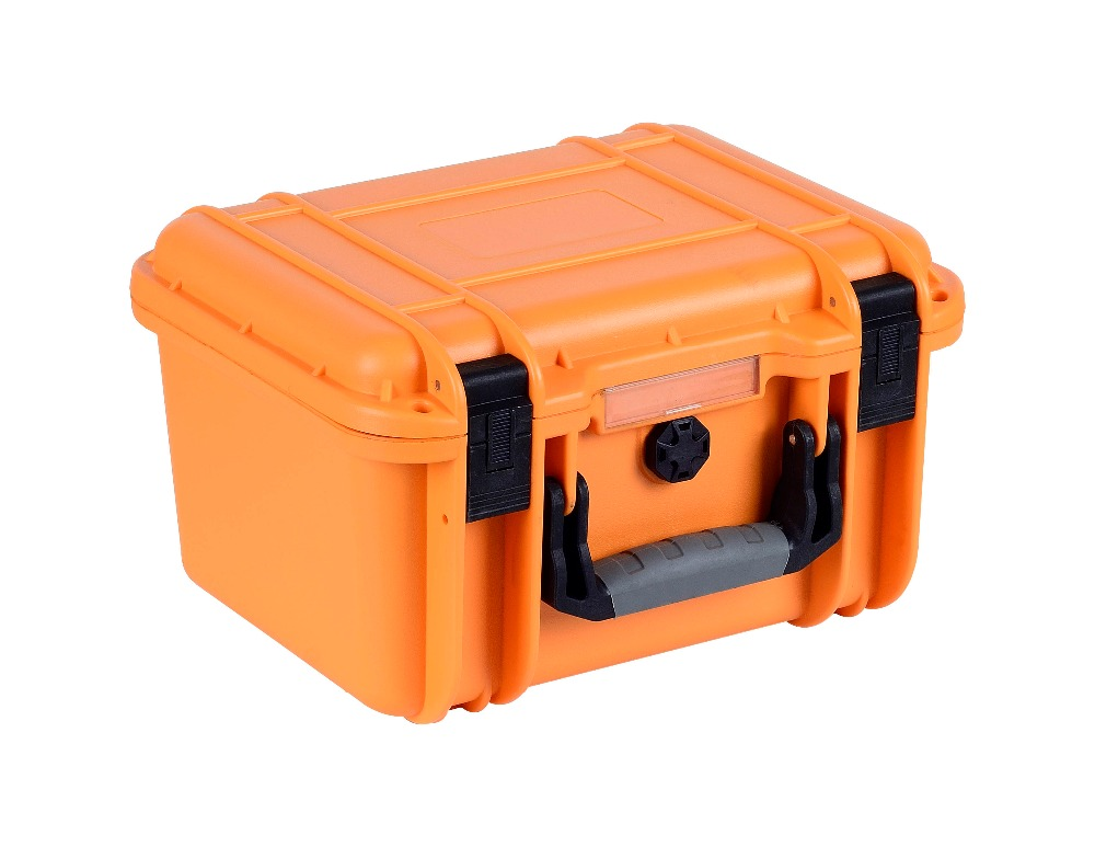 plastic seal waterproof safety case with precut foam