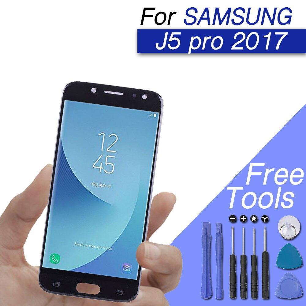 Remplacement LCD/écran/écran j5 2017 pour samsung galaxy j5 pro J530F J530Y lcd écran tactile original amoled lcd