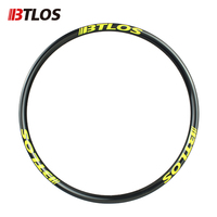 29er 300g Ultralight XC carbon mtb disc rims tubeless U shape Mountain bike wheel tubeless disc mtb bike rim carbon wheels