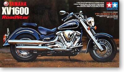 ФОТО Tamiya 14080 1/12 Scale Motorcycle Model Kit YMH XV1600 A Road Free Shipping