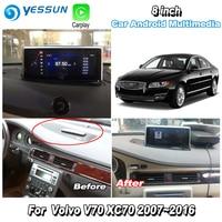 YESSUN For Volvo V70 XC70 2007~2016 Car Android Carplay GPS Navi maps Navigation Player Radio Stereo Media HD Screen No CD DVD