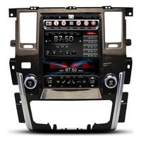 10.4 Vertical Screen Tesla Android Car Multimedia Stereo DVD GPS Navigation for Nissan Patrol 2009 2010 2011 2012 2013 2014