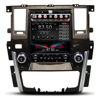 10.4 Vertical Screen Tesla Android Car Multimedia Stereo DVD GPS Navigation for Nissan Patrol 2009 2010 2011 2012 2013 2014