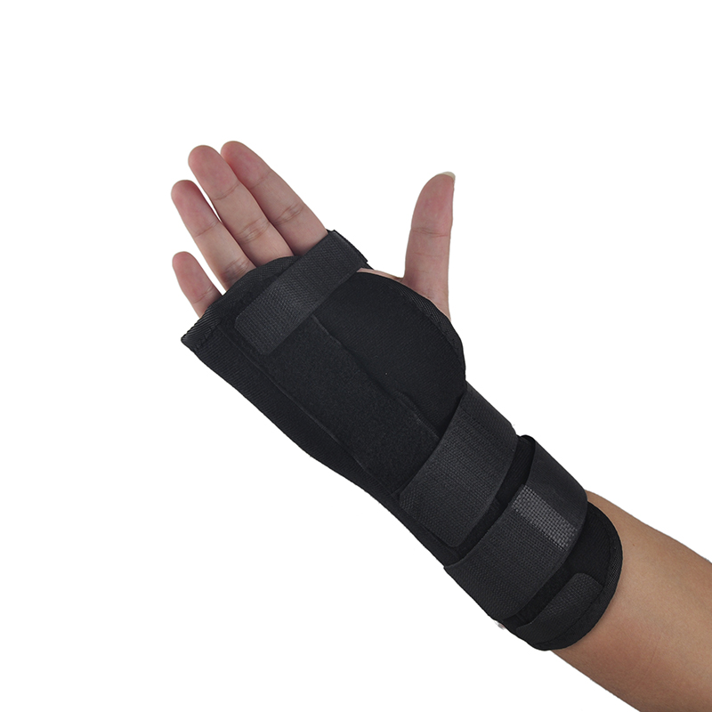 Cycling Gloves Wrist Support Brace Medical Carpal Tunnel Adjustable Pads Sprain Forearm Splint Band Strap Safe Protector