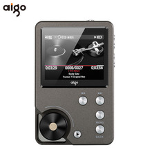 Original Aigo 105 Reproductor de MP3 de Aleación de Zinc Entusiasta HiFi Lossless música 320×240 Resolución de 2 Pulgadas 1500 mAh 8G Universal jugador
