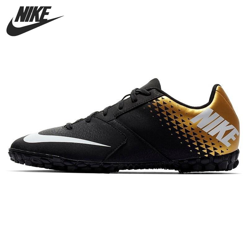 Оригинальный Новое поступление NIKE BOMBA TF Мужская футбольная обувь кроссовки