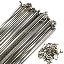 Bike spokes bicycle Road 14G/14K 253-263 mm length stainless steel material Free Shipping