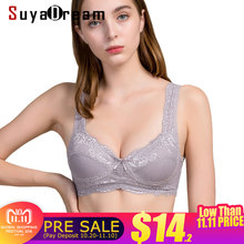 70750de9b99a9 Women Lace Bras 100%Natural Silk Wire Free Thin padding Bra Everyday  bralette Nude Black