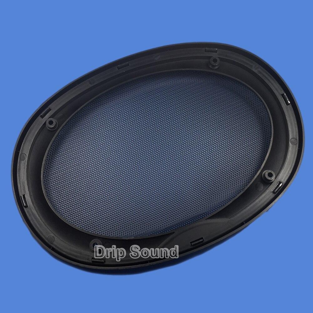 High Quality Car Speaker Net Subwoofer Decorative Cover Sliver with Light
