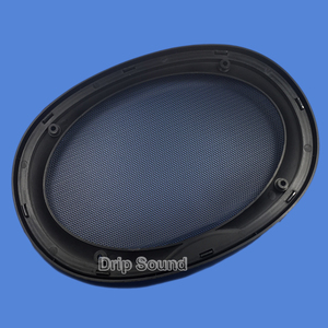 """Image 5 - For 6""""x9"""" 6x9 inch Speaker Grill Cover Car Audio Decorative Circle Metal Mesh Grille Protection"""