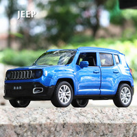 Jeep Model True Car pull back acousto optic Music Alloy car of Toys Imitating Off road Open door Vehicle toys for children