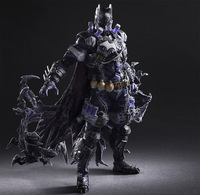 Batman Play Arts Kai Mr.Freeze PVC Action Figure Toys 260mm Anime Movie Bat Man Freeze Playarts Kai Model Toy Figurine