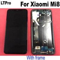 LTPro Оригинал лучшее ЖК дисплей Дисплей сенсорный Панель Экран, дигитайзер, для сборки, с корпусом, для спортивной камеры Xiao mi 8 mi 8 mi 8 M8 телефон
