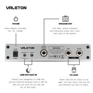 Image 4 - Valeton Guitar Amp with Reverb Distortion Overdrive Asphalt TAR 20G Pedal Platform Amplifier Head with CAB SIM