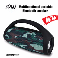 Best Wireless Bluetooth Speaker Waterproof Portable Outdoor Bicycle Speaker Column Box Loudspeaker HIFI Bass FM Radio TF Mp3 цена и фото