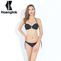 BRANDMAN2017 New Sexy Bikinis Women Swimsuit Bathing Suits Swim Halter Push Up Bikini Set