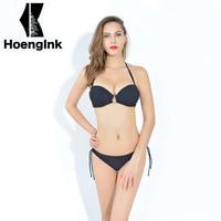 BRANDMAN2017 New Sexy Bikinis Women Swimsuit Bathing Suits Swim Halter Push Up Bikini Set