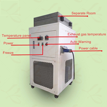 LY FS-10 new professional bulk separating machine frozen LCD screen separator minimum minus 140 degree