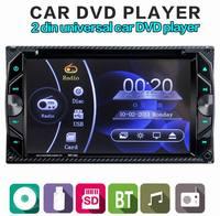 Ouchuangbo 6.2 cal car audio odtwarzacz dvd wsparcie BT SD AUX w magazynie szybka wysyłka