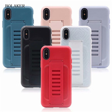 New anti-bump shockproof ring set mobile phone case for