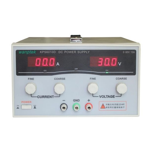 600W KPS6010D High precision High Power Adjustable LED Display Switching DC power supply 220V 0-60V/0-10A