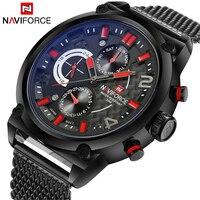 NAVIFORCE Brand Watch Men Fashion Casual Quartz Watch Relogio Masculino Waterproof Watches Erkek Kol Saati Top