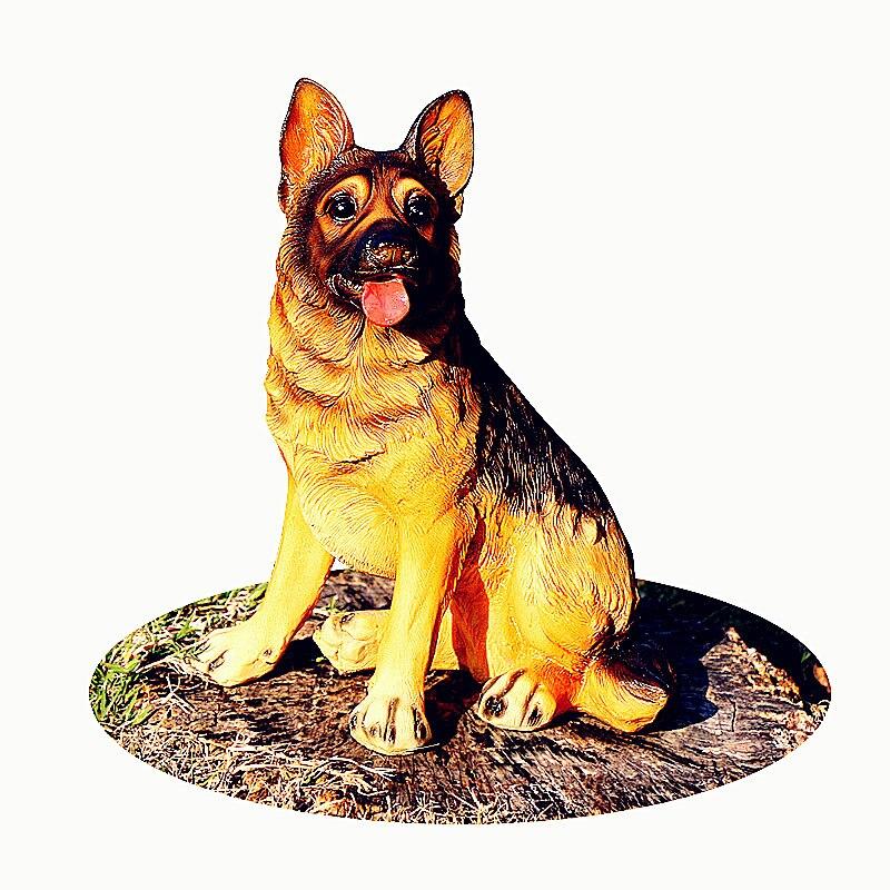 UnabhäNgig Simulation Tier Hund Statue Wolfdog Pastorale Stil Zu Hause Dekorationen Harz Kunst Handwerk Kreative Geschenk L2745 Zu Den Ersten äHnlichen Produkten ZäHlen Statuen & Skulpturen Wohnkultur