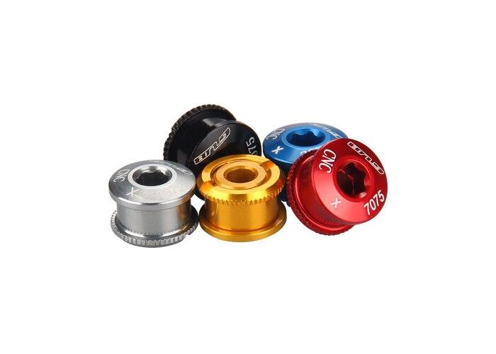 Ti Bolt /& Nut 8 Bolts /& 4 Nuts for Triple Crankset Chainring 12pcs Titanium