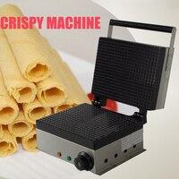 1pc באיכות גבוהה חשמלי שאינו מקל בישול משטח פריך מכונת 110V או 220V פריך גלידה יצרנית 1750W
