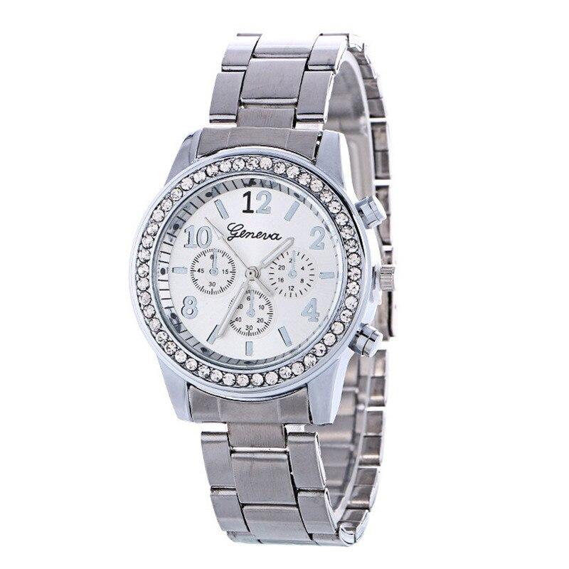 daf16e383cb Erkek kol saati Colorido Das Mulheres Dos Homens Elegante relógio Roman  numberals Relógio Esportivo de Aço Inoxidável Grande Mostrador do Relógio  de Quartzo ...
