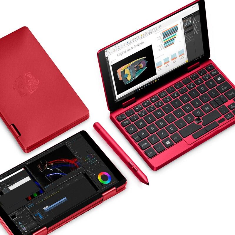 Koi limit édition Mix2S poche rouge PC Intel Core M3-8100Y 8 GB RAM 512 GB SSD FHD écran reconnaissance d'empreintes digitales licence Windows10