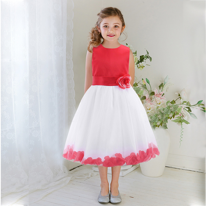 High Quality Girl Dresses Princess Children Clothing Anna Elsa Cosplay Costume Kid's Party Dress Baby Girls Clothes elsa dress sparkling snow queen elsa princess girl party tutu dress cosplay anna elsa costume flower baby girls birthday dresses