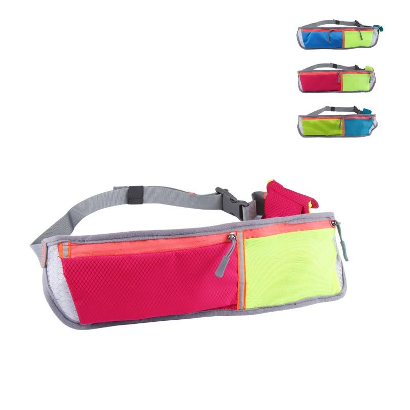 Hot sales Women Casual Female High Quality Waist Bag Fashion Waist Packs Belt Waist Bag Pouch Zip Fanny Pack for men YB6