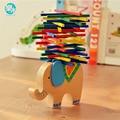 Bebé De Juguete De Madera Educativo Elefante/Camello Equilibrio Equilibrio Juego de Bloques De Madera Juguetes De Madera De Haya Bloques Montessori Regalo Para Los Niños