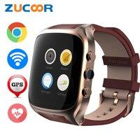 Zucoor reloj inteligente X01S 3G smartwatch teléfono Android 5.1 vida impermeable GPS podómetro WiFi Bluetooth Mp3 cámara de frecuencia cardíaca reloj