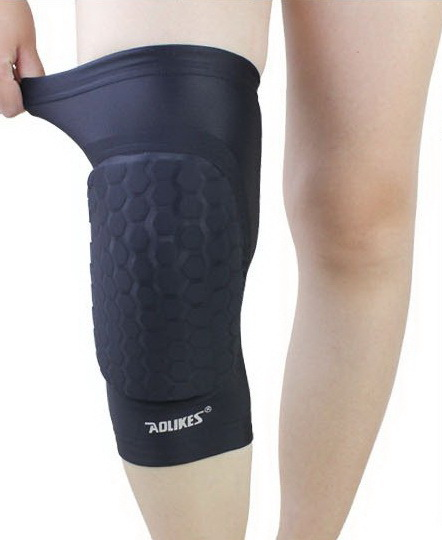 New Kneepad Football Volleyball Extreme Sports Knee <font><b>Pads</b></font> Eblow Brace Support Lap Protect Cycling Knee Protector free shipping