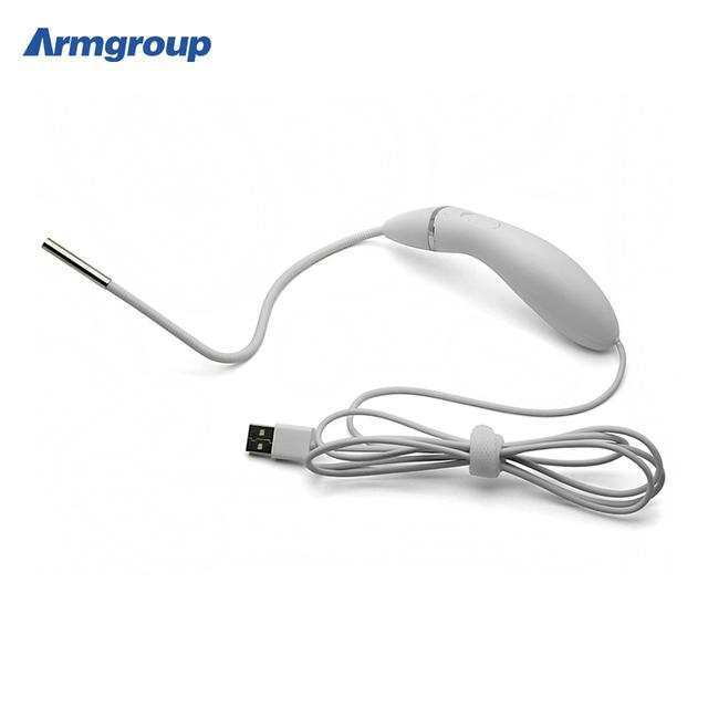 6 LEVOU Luz exame OTORRINOLARINGOLÓGICO Endoscópio 5.5mm Inspeção USB Câmera À Prova D' Água Médica 0.3 MP de Alta Definição Mini Camrea