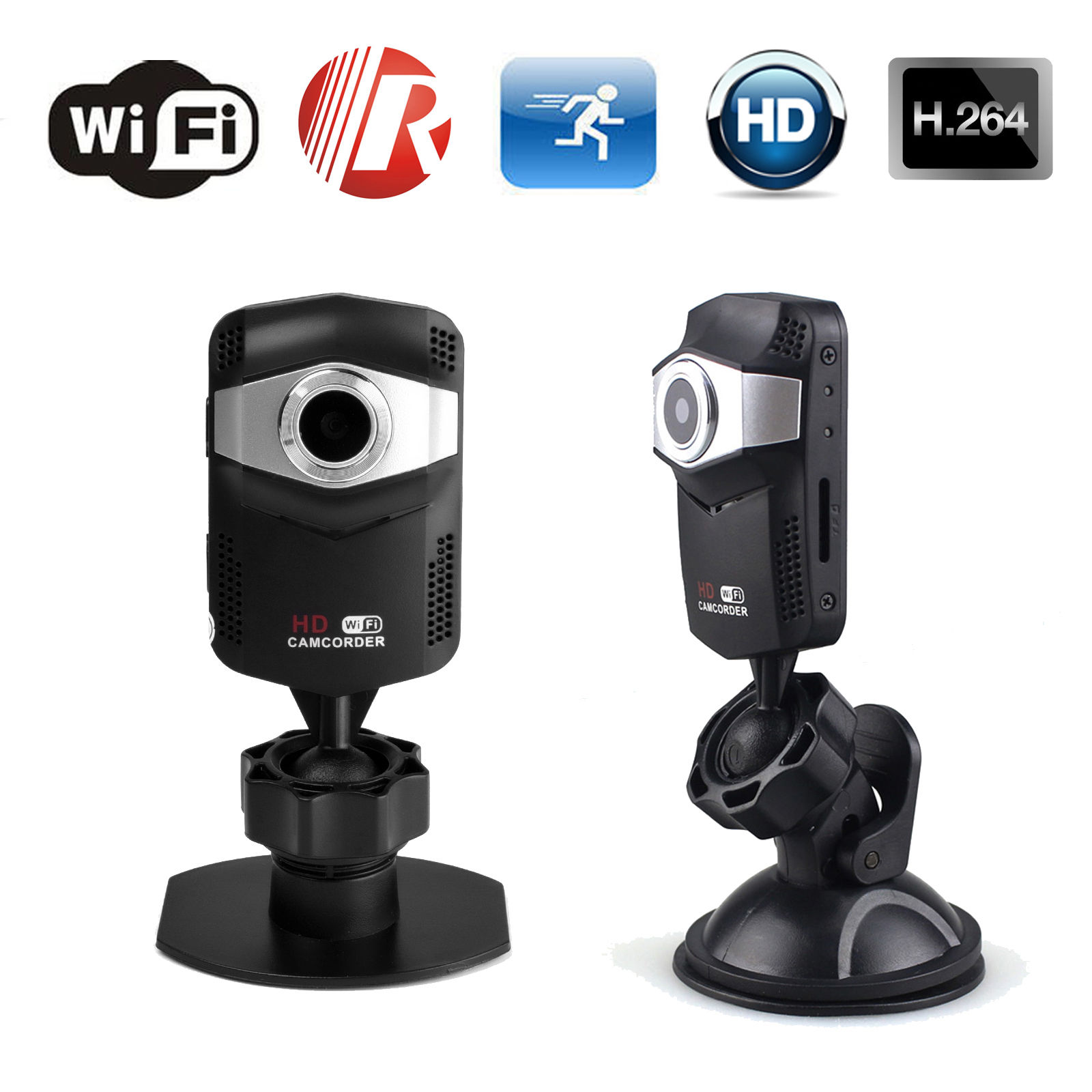 32GB Card+Wifi IP Mini Wireless HD 720P Motion Detect IR Network Security Camera DVR