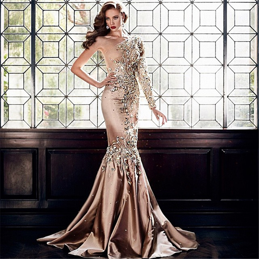Popular Brown Prom Dresses-Buy Cheap Brown Prom Dresses lots from ...