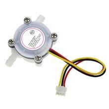 "Wasser Flow Sensor 0,3 6L/min Schalter Durchflussmesser Zähler Sensor Wasser Control 1/4 ""1.75MPa DIY Kit"