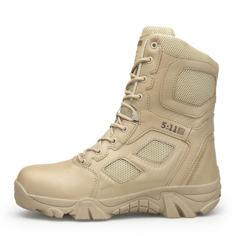 Deserto Antiderrapante Alta Ar 397 Desgaste Do Botas Inverno Militar Exército Homens Ao Respirável Treinamento Xx De Bege Livre Sapatos Tático preto Top Resistente xa4q6