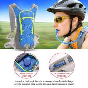 Image 4 - 8L naylon yelek çalışan sırt çantası spor hidrasyon bisiklet maraton koşu erkek kadın çantası su geçirmez Run spor aksesuarları