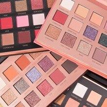 FOCALLURE original Eye shadow Palette 18 Color Shimmer Matte Beauty Makeup Set Smoky Eyeshadow cosmetic