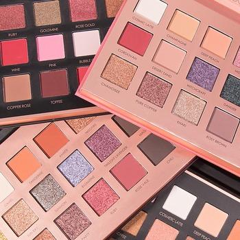FOCALLURE oryginalna paleta cieni do powiek 18 kolorów Shimmer Matte Beauty zestaw do makijażu dymne cienie do powiek tanie i dobre opinie CN (pochodzenie) Mineral BRIGHTEN Naturalne Długotrwała Łatwe do noszenia W pełnym rozmiarze Powyżej ośmiu kolorach