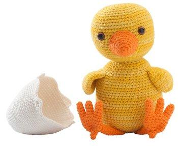 crochet toys  amigurumi duck  model  number 0975