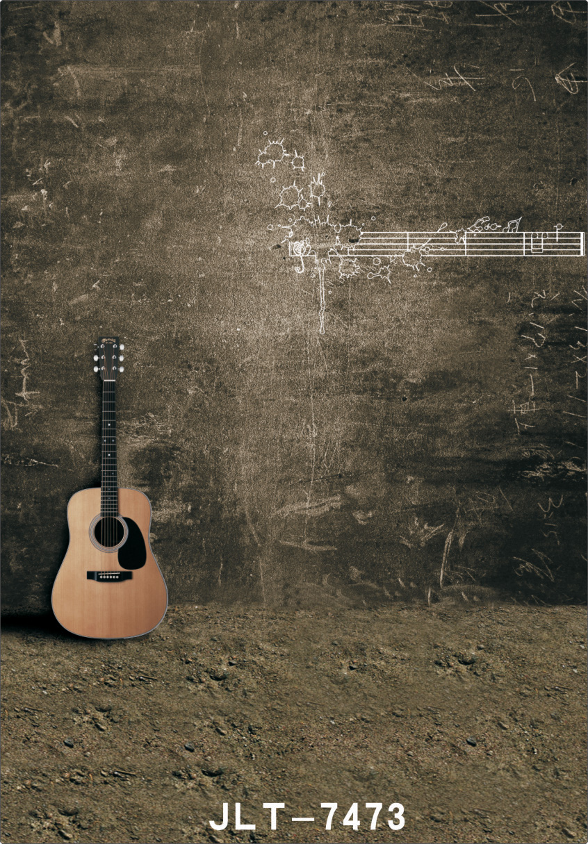 Vintage Photography Background Guitar Background