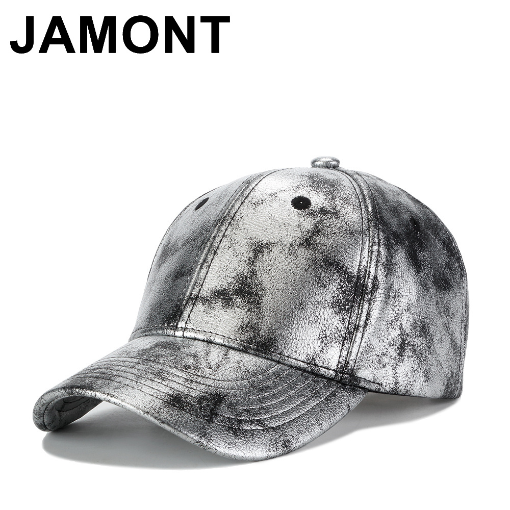 Jamont Men Women Leather Baseball Cap Blank Casquette Golf Hat Autumn  Winter Chapeau Snapback Hats Casual Adjustable Sun Caps 77fbef40530